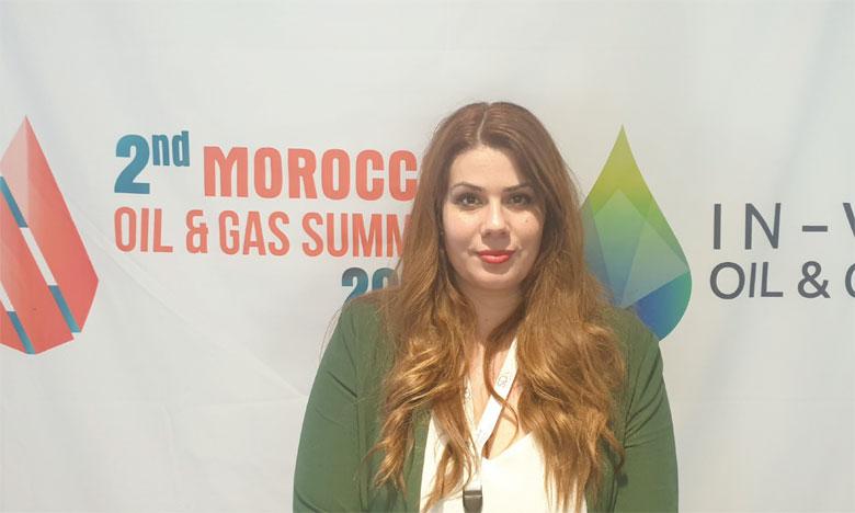 Pour Chryssa Tsouraki, ce type d'événements contribue à positionner le Maroc dans l'échiquier mondial des meilleures destinations d'exploration gazière et pétrolière. Ph. A. Hafidi