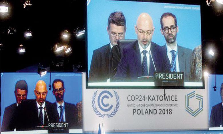 La COP 24, qui s'est déroulée la deuxième semaine du mois de décembre 2018, s'était terminée sur un accord à minima. Ph. DR