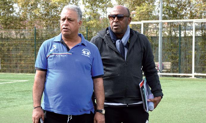 Fettah Alaoui (à gauche) et Merry Krimau