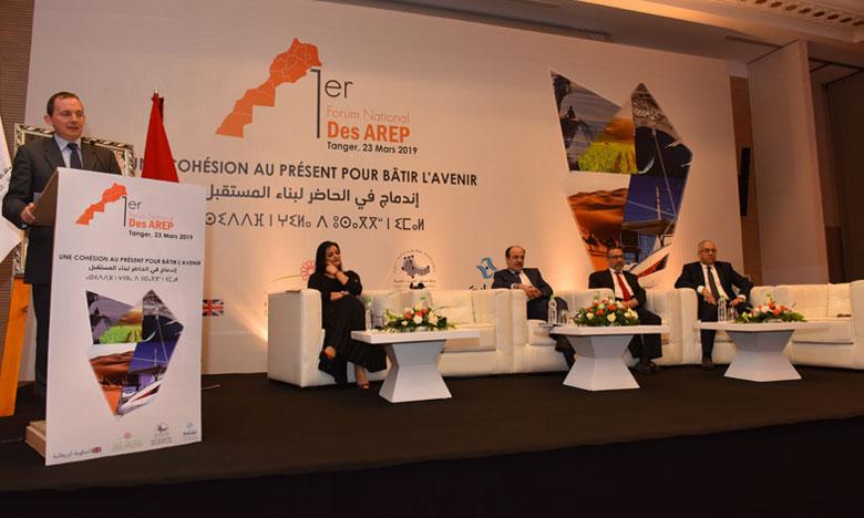 Franc succès du premier Forum national des AREP