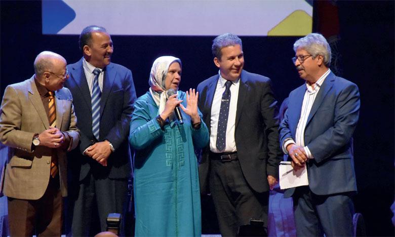 La grande comédienne Souad Saber fut consacrée pour sa brillante carrière.