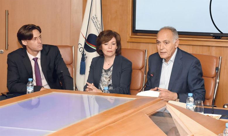 Pour Salaheddine Mezouar, président de la CGEM, le secteur privé a un rôle fondamental et vital dans l'accompagnement des stratégies industrielles étatiques.Ph. Saouri