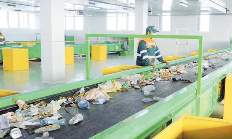 La dernière réalisation en date dans la gestion des déchets est à mettre sur le compte d'Ecomed qui a inauguré, début janvier à Marrakech, la première phase de son nouveau centre de tri pour 63 millions de dirhams.  Ph. DR