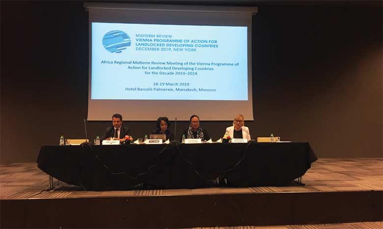Pays sans littoral : «Des efforts restent à consentir pour renforcer les infrastructures et améliorer l'accès aux services de base»