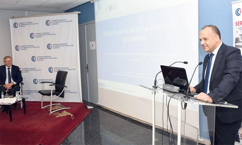 «Dans toutes les actions douanières, la question de l'équité est présente  au quotidien», indique Nabyl Lakhdar, DG de l'ADII. Ph. Saouri