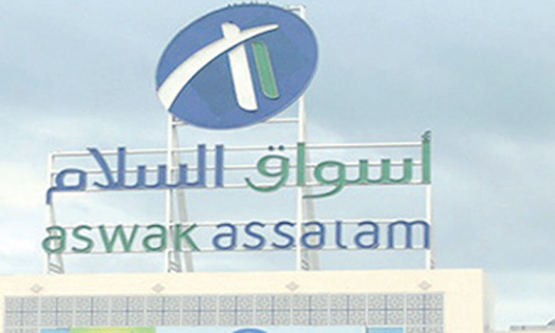 Le réseau Aswak Assalam, c'est 50.000 clients par jour.