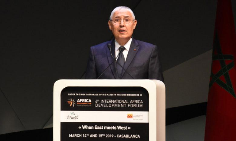 Mohamed El Kettani, PDG du groupe Attijariwafa bank : «L'agenda institutionnel avance dans le sens de l'intégration : 44 des 54 pays africains participent déjà à plus d'une communauté économique régionale, avec des degrés divers d'intégration et un potentiel de renforcement considérable». Ph. Saouri
