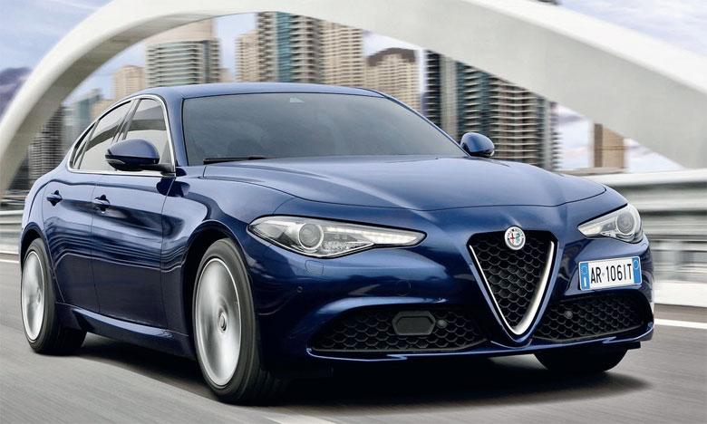 Meilleure Voiture Familiale >> Le Matin Alfa Romeo Giulia Elue Meilleure Familiale Au Maroc