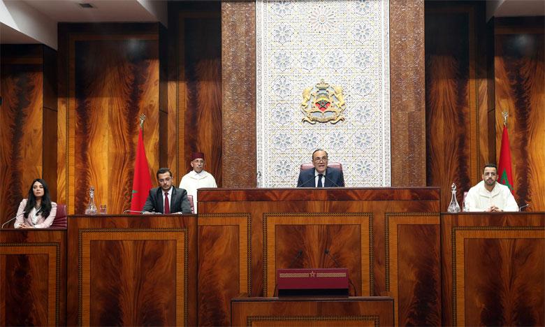 La Chambre des représentants entame sa deuxième session par l'adoption de deux projets de loi relatifs à l'amélioration du climat des affaires