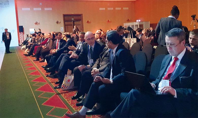 Les nouveaux défis technologiques ont longuement été débattus lors de la 5e édition de la Conférence du forum mondial des dépositaires centraux des titres, organisée du 8 au 12 avril à Marrakech. Ph. M. Hafidi