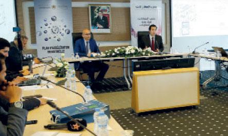 «L'écosystème des auto-entrepreneurs s'est enrichi avec la formation de 355 conseillers en entrepreneuriat et l'accompagnement de 2.786 auto-entrepreneurs», déclare Othman El Ferdaous, secrétaire d'Etat chargé de l'investissement. Ph. Kartouch