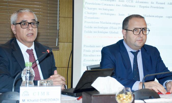 La CIMR a affiché en 2018 des résultats financiers en nette amélioration et une pérennité intacte, indique son PDG, Khalid Cheddadi. Ph. Seddik