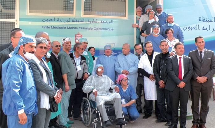 Une caravane médicale dans le cadre de la campagne «Zéro rendez-vous»