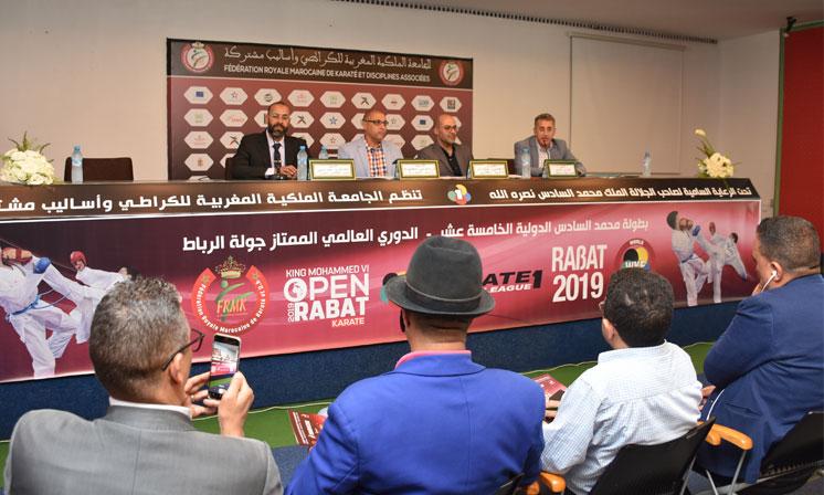 La Fédération Royale marocaine de karaté et DA a tenu mardi à Rabat une conférence de presse pour présenter les contours de la 15e édition de la Coupe internationale Mohammed VI de karaté.