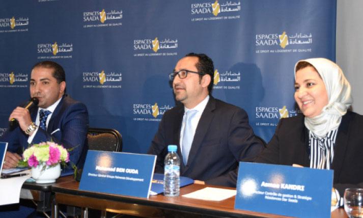 Résidences Dar Saada a réalisé un résultat net de 327 millions de dirhams en 2018,  soit 3 millions de moins qu'en 2017. Ph. Seddik