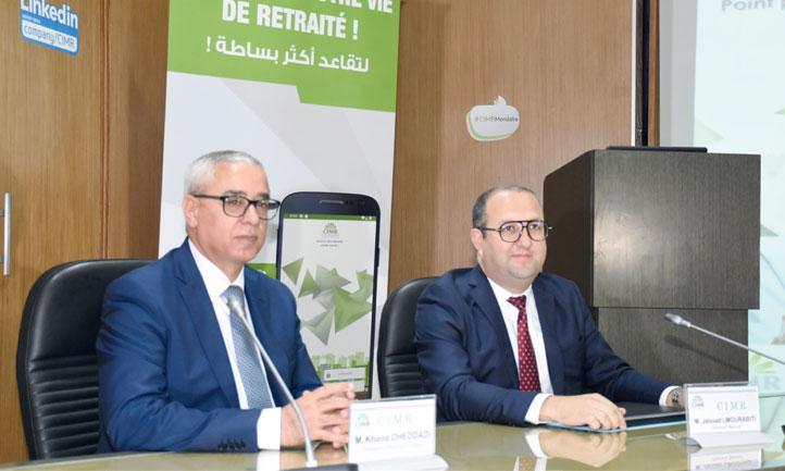 «Cette nouvelle application va rendre la vie facile aux retraités, notamment MRE, qui trouvaient parfois des difficultés pour nous faire parvenir leurs certificats de vie», a déclaré Khalid Cheddadi, PDG de la CIMR, le 29 mai à Casablanca. Ph. Seddik