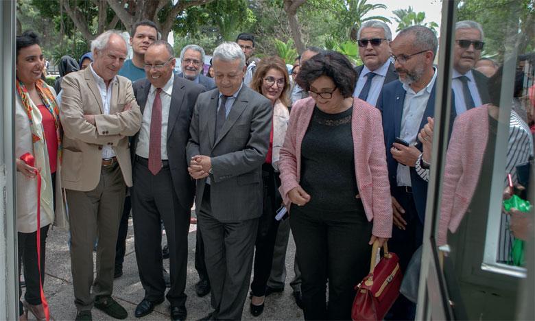 La cérémonie d'inauguration du centre CIRA-ESS a été marquée par le présence du ministre du Tourisme,  du transport aérien, de l'artisanat et de l'économie sociale, Mohamed Sajid.