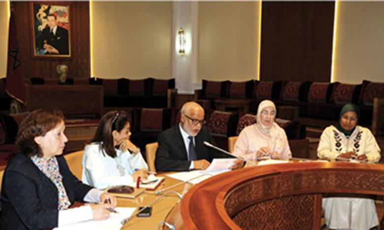 Le Groupe de travail thématique sur l'égalité  et la parité tient une rencontre dédiée  à la protection sociale de la femme ouvrière