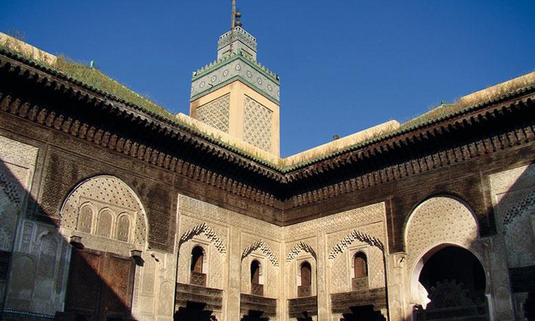 La medersa Al-Abou Inania, l'un des multiples joyaux architecturaux légués par la dynastie des Méridnides.