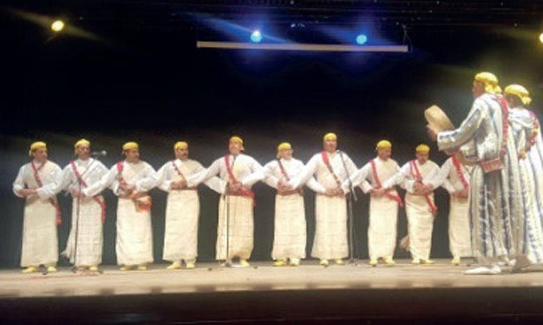 Concours pour la participation  au Festival national d'Ahidous