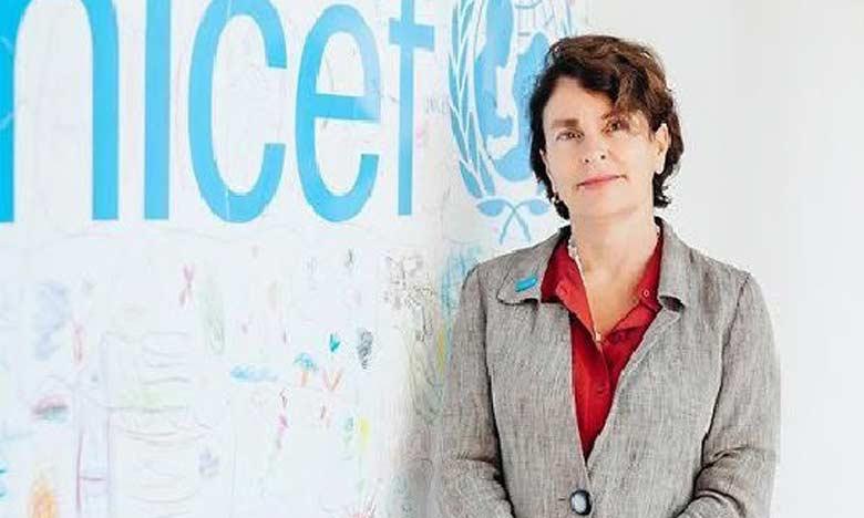 La représentante de l'Unicef au Maroc, Giovanna Barberis, a appelé  à redoubler d'efforts pour permettre aux enfants l'accès à tous leurs droits de manière à ne pas les exposer au risque de mariage des enfants.