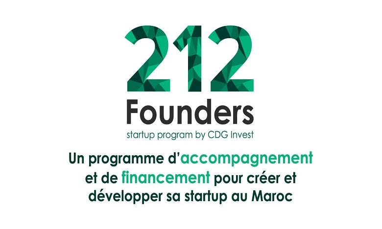 Appel à candidatures pour le programme «212 Founders»