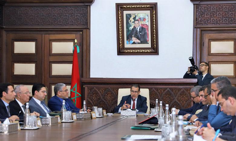 Réunion du Conseil de gouvernement sous la présidence du Chef du gouvernement, Saâd-Eddine El Othmani.