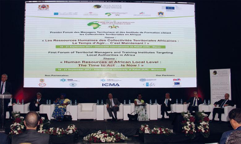 Le thème retenu pour cette édition est «Le financement de l'apprentissage, de la formation et du renforcement des capacités des élus locaux et du personnel des Collectivités territoriales en Afrique».