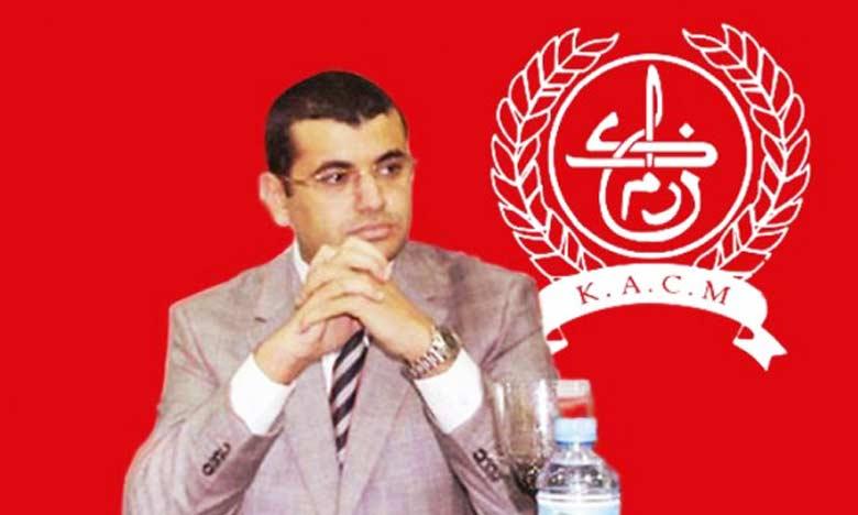 Fouad El Ouarzazi, le désormais ancien président du KACM.