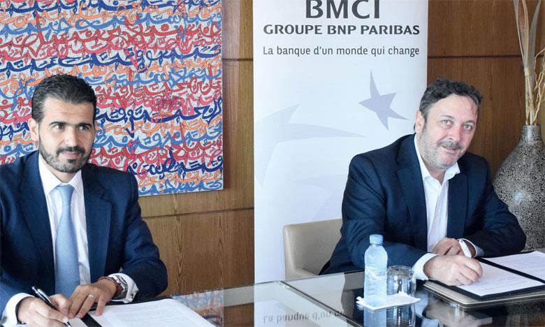 La cérémonie de signature du partenariat BMCI-REM s'est tenue mercredi à Casablanca. Ph. Saouri