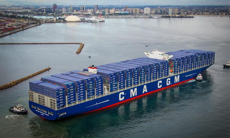 En 2019, CMA CGM est devenu la première compagnie de transport maritime au monde à avoir testé avec succès un biocarburant (biofuel) sur l'un de ses porte-conteneurs.