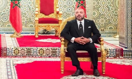 S.M. le Roi préside la cérémonie de présentation de la déclinaison régionale du Plan d'accélération industrielle 2014-2020 dans la région de Souss-Massa et de signature de huit conventions et d'un protocole y afférents