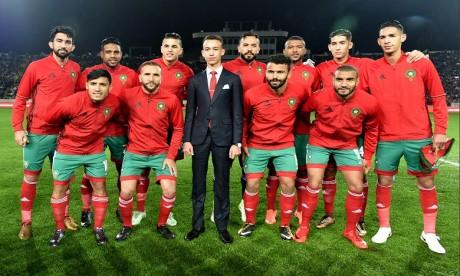S.A.R. Le Prince Héritier Moulay El Hassan préside à Casablanca la cérémonie d'ouverture du CHAN 2018