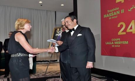 S.A.R. le Prince Moulay Rachid préside un dîner offert par S.M. le Roi en l'honneur des invités du Trophée Hassan II de golf
