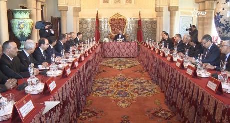 Sa Majesté le Roi Mohammed VI préside à Rabat un Conseil des ministres