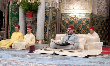 S.M. le Roi préside à Casablanca la quatrième causerie religieuse du mois sacré de Ramadan