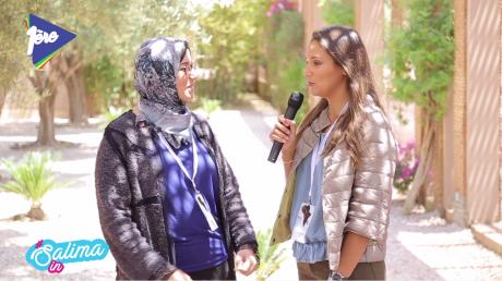 Salima In African Cristal Festival avec Maria Aït M'Hamed
