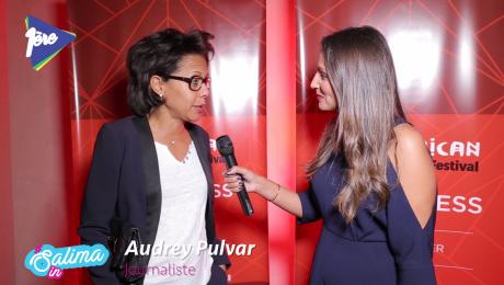 Salima In African Cristal Festival avec Audrey Pulvar
