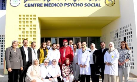 S.M. le Roi inaugure un centre médico-psycho-social à Tit Mellil dans la province de Médiouna