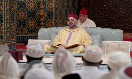 S.M. le Roi, Amir Al Mouminine, préside à Casablanca la troisième causerie religieuse du mois sacré de Ramadan