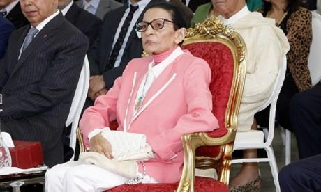 S.A.R. la Princesse Lalla Malika préside une réception offerte par S.M. le Roi à l'occasion de la Journée mondiale de la Croix-Rouge et du Croissant-Rouge