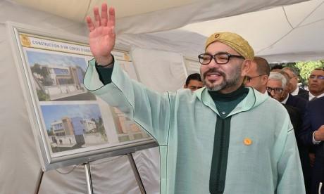 S.M. le Roi lance les travaux de construction d'un Centre d'addictologie à Benslimane