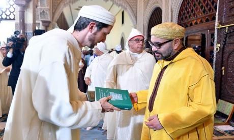 S.M. le Roi préside à Rabat la septième causerie religieuse du mois sacré de Ramadan