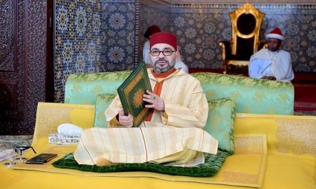 S.M. le Roi préside à Rabat la huitième causerie religieuse du mois sacré du Ramadan