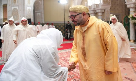 S.M. le Roi, Amir Al Mouminine, préside à Casablanca la cinquième causerie religieuse du mois sacré de Ramadan
