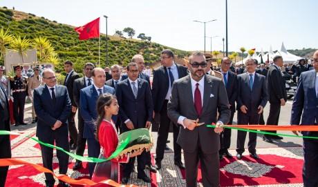 S.M. le Roi reçoit le nouveau SG du PAM et du PPS et inaugure la rocade urbaine N°2 de Rabat-Salé