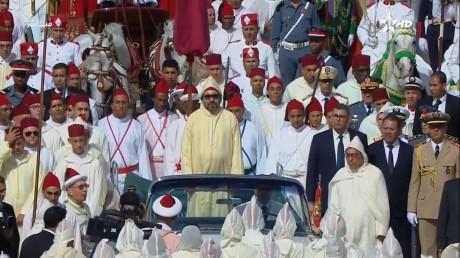 S.M. le Roi, Amir Al Mouminine, préside à Tétouan la cérémonie d'allégeance