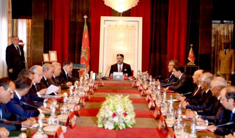 S.M. le Roi Mohammed VI préside à Rabat un Conseil des ministres