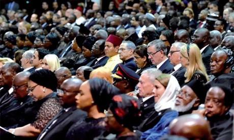 S.A.R. le Prince Moulay Rachid représente S.M. le Roi aux funérailles de Kofi Annan