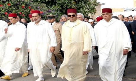 Funérailles de Mohammed Karim Lamrani en présence de S.A.R. le Prince Moulay Rachid